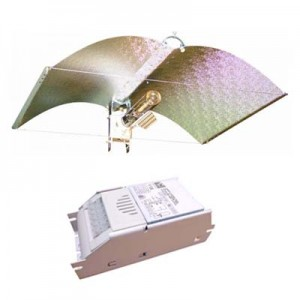 Kit Lumière HPS 250W - ADJUST-A-WINGS Medium + Super Spreader (Heatshield)