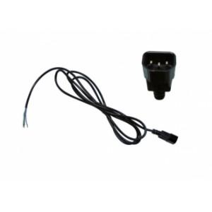 Cable IEC 2M + PRISE MÂLE