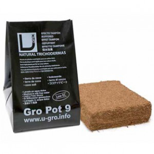 UGro - Coco Block Compressé  Pot 9 L 18x18x5 cm