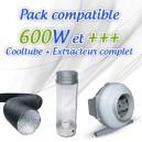 Pack CoolTube + Extracteur pour 600W et +