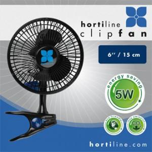 Ventilateur à Pince / Clip Fan - Hortiline 13 W - diam. 15 cm - 100 m3/h