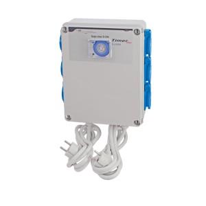 Relais electrique GSE 6 X lampes 600W+ Timer integré