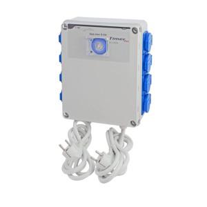 Relais électrique - GSE - 8 x lampes 600 W + Timer intégré
