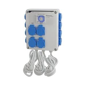 Relais électrique - GSE - 12 x lampes 600 W + Timer intégré