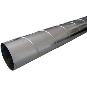 tube spiro galvaniz diam 80 mm tube 3 m tres. Black Bedroom Furniture Sets. Home Design Ideas