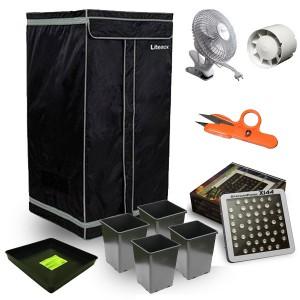 Kit LEDS Panel 144W Luxe - CITYBOX 60 - 60X60X140