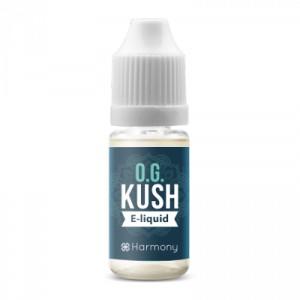 Harmony - e-Liquide - OG Kush - Terpenes + CBD 30 mg - 10 ml