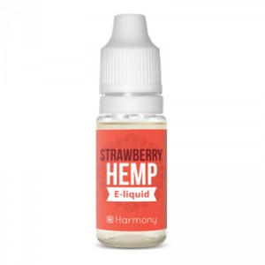 Harmony - e-Liquide - Strawberry - CBD 600 mg - 10 ml