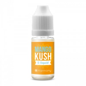 Harmony - e-Liquide - Mango Kush - Terpenes + Nicotine 60 mg - 10 ml
