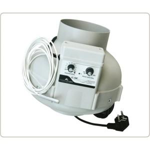 Extracteur centrifuge PrimaKlima PK125CTRL diam. 125 mm 440 m3/h