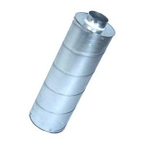 Silencieux diam. 100 mm - L 90 cm