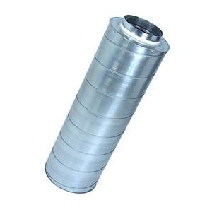Silencieux diam. 125 mm - L 90 cm
