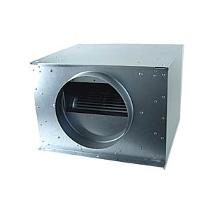 Box Acier Insorisée RUCK  ISOTX250 diam. 250 - 1090 m3/h 480x440xH/287 cm