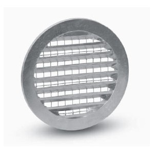 Grille Aspiration Prise d'air Circulaire Métal diam. 100 mm