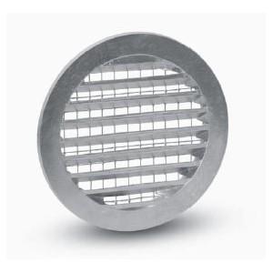 Grille Aspiration Prise d'air Circulaire Métal diam. 125 mm