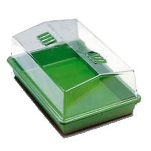 Mini Serre Plastique rigide 38 x 24 x h/19 cm