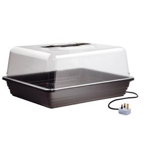 Mini Serre Chauffante Plastique rigide 38 x 24 x h/19 cm