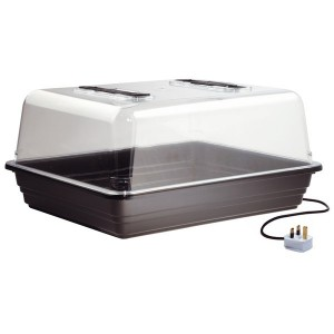 Mini Serre Chauffante Plastique rigide 52 x 42 x h/24 cm