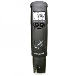 Testeur EC + pH + T° - Hanna HI98130 - Pocket Combo